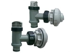 Плунжерные клапана Intex с насадками полный комплект арт. 54615 ( 38 мм)