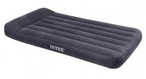 66767 Надувной матрас с подголовником Pillow Rest Classic Bed, 99х191х23см