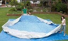 Как правильно установить каркасный бассейн на даче