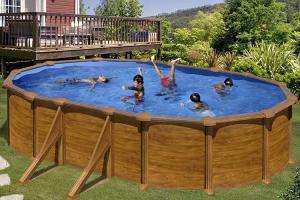 Каркасный бассейн GRE PR508WOMAG овальный 500x300x132 см