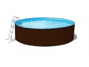 Сборный бассейн ЛАГУНА 45710 круглый 457х125 см (платина)