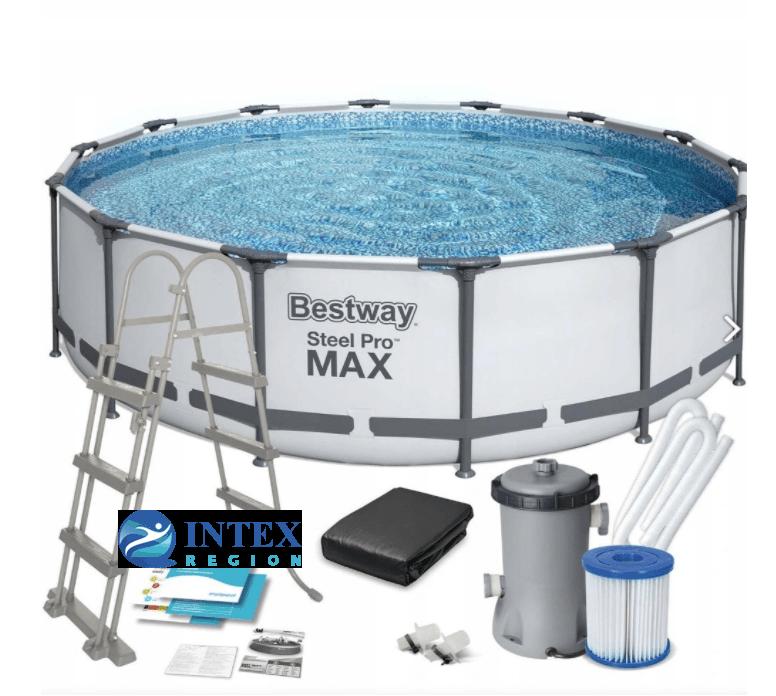 Каркасный бассейн Bestway 56438 457х122 Steel Pro MAX